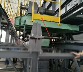 出口日本设备使用东元R系列双段减速机
