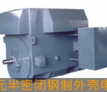 东元高压电机半密闭钢制外壳电机