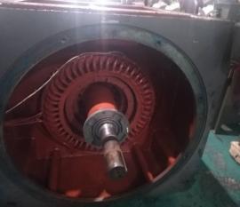 630KW主控风机电机维修保养