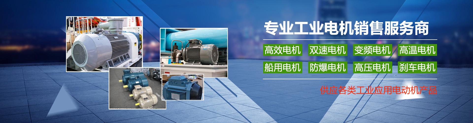 供应各类工业应用电动机
