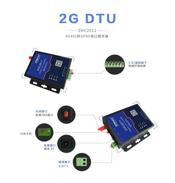 ZHC2011工业级GPRS DTU